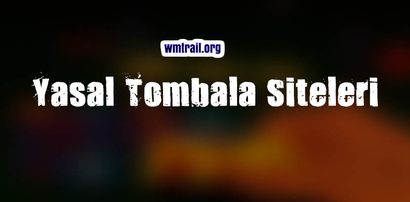 Yasal Tombala Siteleri 2021